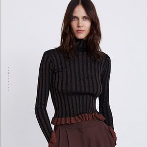 Zara knit turtleneck